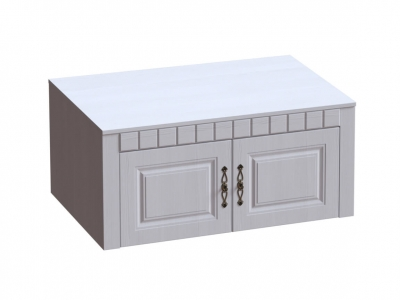 Антресоль двухдверная Прованс 1070х590х480 Бодега белая