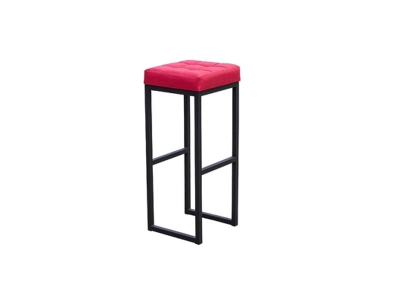 Барный стул Лофт-2 черный-красный