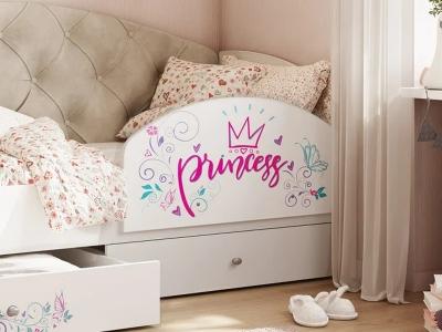 Бортик для кровати Эльза принцесса