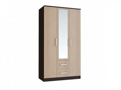 Шкаф 3-х створчатый Фиеста венге/лоредо