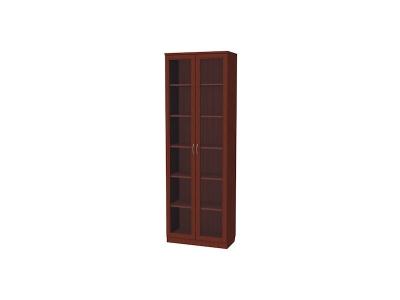 Шкаф для книг артикул 224 итальянский орех