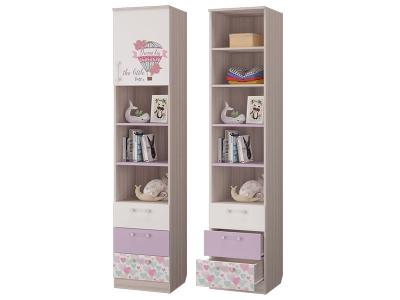 Шкаф для книг с 3-мя ящиками и дверкой Адель