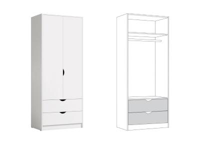 Шкаф для одежды 13.327 Уна