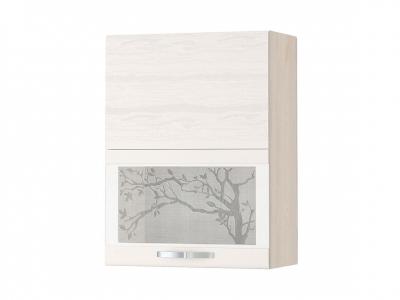 Шкаф-витрина плавное закрывание 74.80 Графит 600х320х810