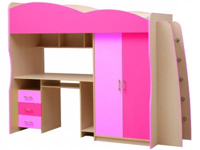 Детский уголок Юниор-3.1 розовый