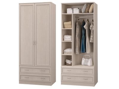 Шкаф 2-х дверный с 2мя ящиками Верона