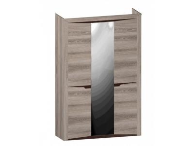 Шкаф 3-х дверный Гарда Ясень Таормино 1520х520х2300