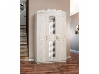 Шкаф 3-х дверный с зеркалом Венеция 5.1