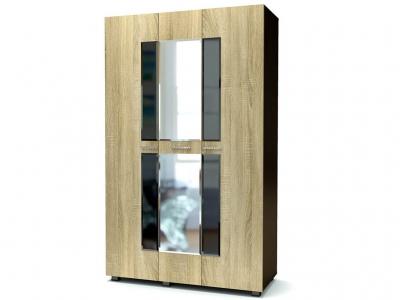 Шкаф 3-х Квант Венге - Дуб сонома
