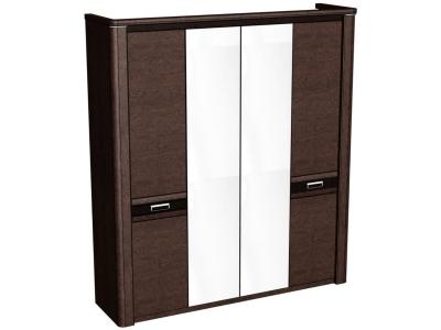 Шкаф 4-х дверный Магнолия Дуб венге 2048х558х2280