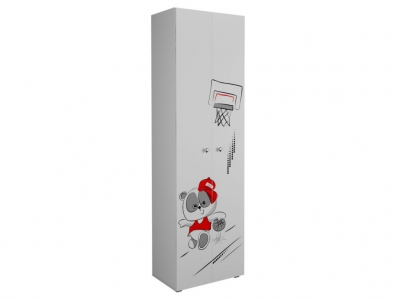 Шкаф 600 для белья с полками Дб Симба
