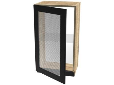 Шкаф ШСТ-40 навесной со стеклом 400х320х742 Сити