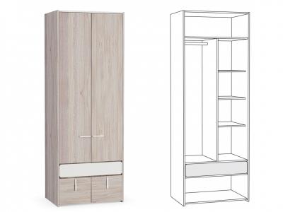 Шкаф для одежды Элен 200 800х554х2214