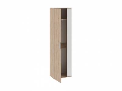 Шкаф для одежды Эрика Дуб Сонома, Белый