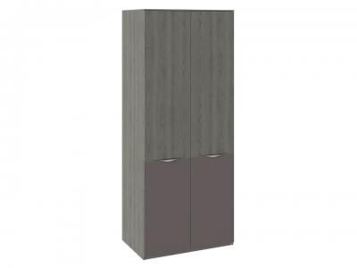 Шкаф для одежды с 2 дверями ЛКП Либерти СМ-297.07.023 Хадсон, Серый