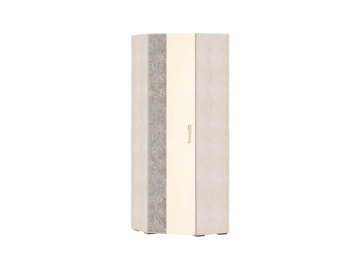 Шкаф для одежды угловой лев-прав 48.04 Фреска 760х760х2100