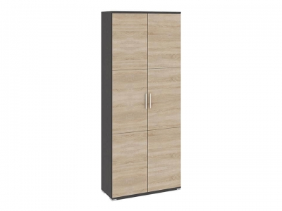 Шкаф для одежды Успех-2 ПМ-184.18 Венге Цаво, Дуб Сонома