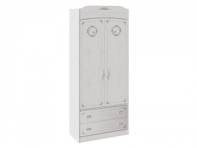 Шкаф комбинированный для одежды Ариэль ТД-280.07.22 Лиственница Сибиу с рисунком
