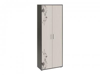 Шкаф комбинированный Витра тип 1 Венге Цаво, Дуб Белфорт с рисунком