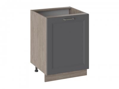 Шкаф напольный Н_72-60_1ДР Одри Серый шелк