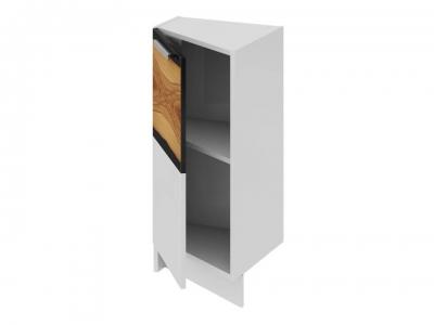 Шкаф напольный нестандартный торцевой левый НнТ_72-40(45)_1ДР(Б) Фэнтези Вуд