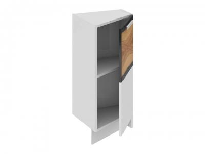 Шкаф напольный нестандартный торцевой правый НнТ_72-40(45)_1ДР(А) Фэнтези Вуд