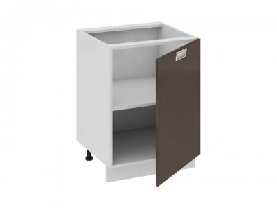 Шкаф напольный правый Н_72-60_1ДР(А) Бьюти Грэй