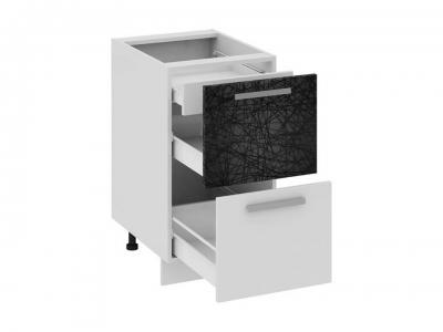 Шкаф напольный с 2 ящиками и 1 внутренним Н2я1_72-45_2Я Фэнтези Лайнс