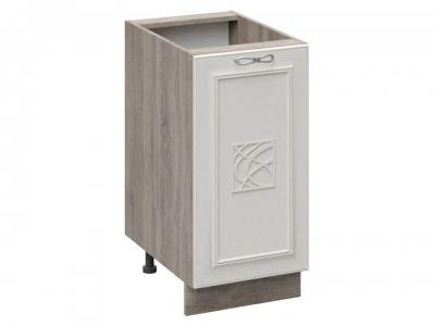 Шкаф напольный с декором Н_72-40_1ДР(Д) Сабрина