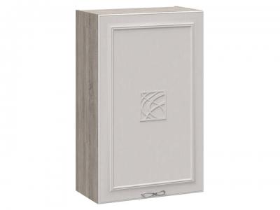 Шкаф навесной c декором В_96-60_1ДР(Д) Сабрина
