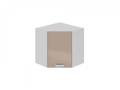 Шкаф навесной угловой 45 левый ВУ45_60-(40)_1ДР(А) Бьюти Капучино