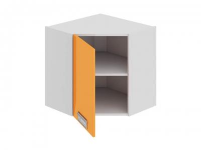 Шкаф навесной угловой 45 левый ВУ45_60-(40)_1ДР(А) Бьюти Оранж