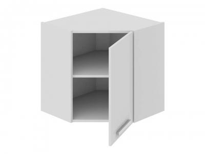 Шкаф навесной угловой 45 ВУ45_60-(40)_1ДР Фэнтези Белый универс