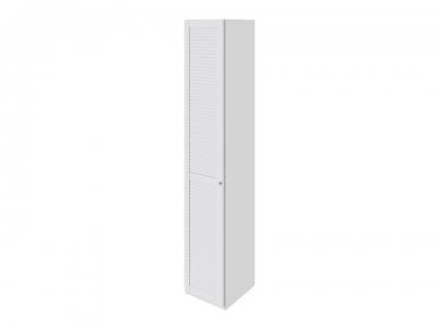 Шкаф торцевой с 1 дверью левый Ривьера СМ 241.07.004 L Белый