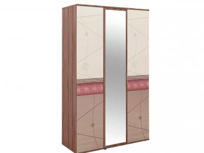 Шкаф трехдверный с зеркалом 96.12 Розали 1350х580х2250