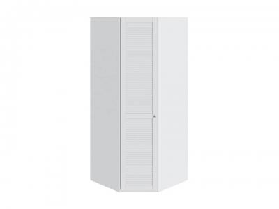 Шкаф угловой с 1 дверью левый Ривьера СМ 241.07.003 L Белый