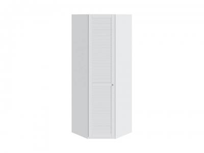 Шкаф угловой с 1 дверью левый Ривьера СМ 241.23.003 L Белый