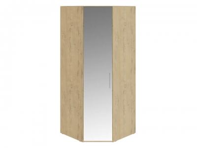 Шкаф угловой с 1 зерк. дверью левый Николь СМ-295.07.007 L Бунратти