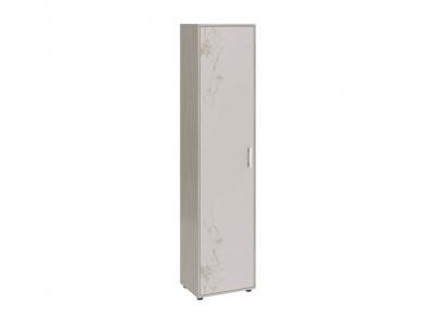 Шкаф Витра тип 1 Ясень шимо, Бежевый глянец с рисунком