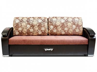 Диван Дубаи-4 Aspen 035-Scarlett brown-Astor 536