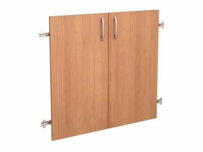 Дверь ЛДСП 2 секции 42.37 Рубин 700х700