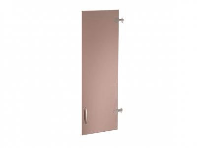 Дверь стеклянная 3 секции лев-прав 62.70 Альфа 370х1170
