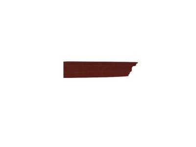 Карниз правый Александрия ЛД 125.160.000 507х42х416 Орех
