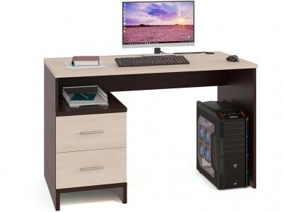 Компьютерный стол Сокол КСТ-114 Венге/Беленый дуб