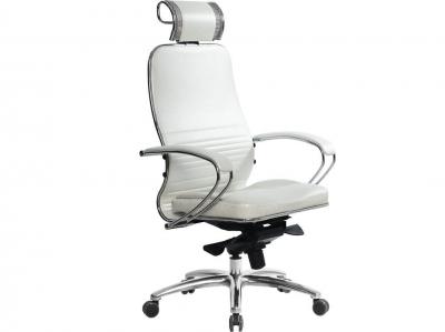 Компьютерное кресло Samurai KL-2.03 белый лебедь