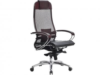 Компьютерное кресло Samurai S-1.03 темно-бордовый с ковриком СSm-25