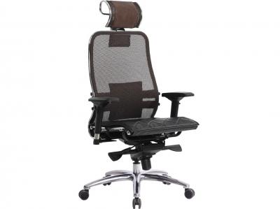 Компьютерное кресло Samurai S-3.03 темно-коричневый с ковриком СSm-10