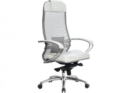Компьютерное кресло Samurai SL-1.03 белый лебедь