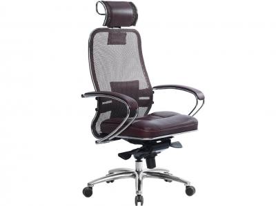 Компьютерное кресло Samurai SL-2.03 темно-бордовый