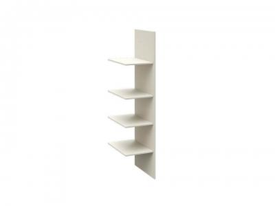 Комплект полок с перегородкой шкафа для одежды Харрис ТД-302.07.02-01 Твист